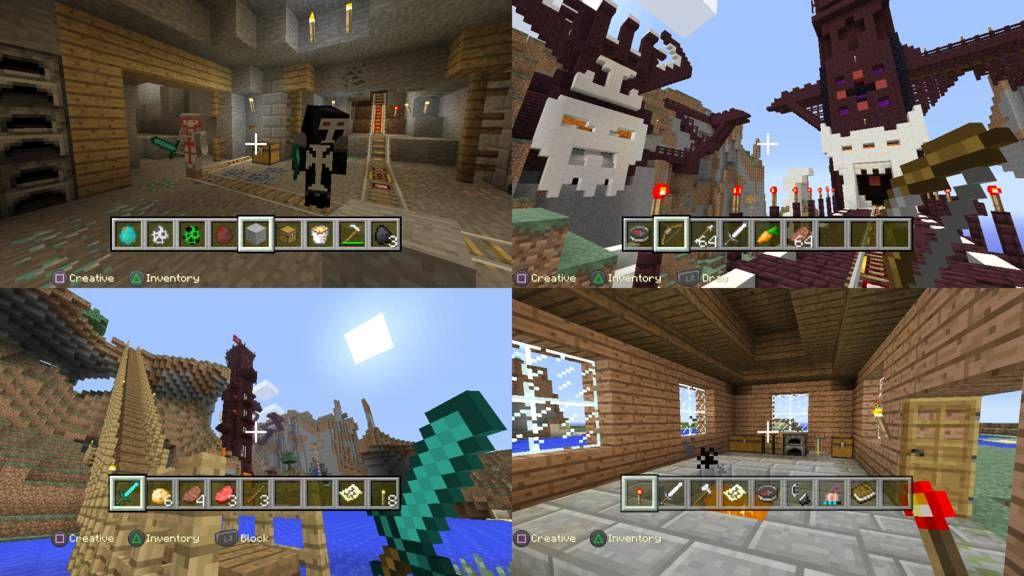 Minecraft Klötzchenbau Auf Der PS Test Von Gameswelt - Minecraft spielen vollversion