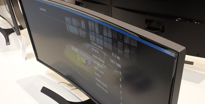 Samsungs Curved-Monitore - Special