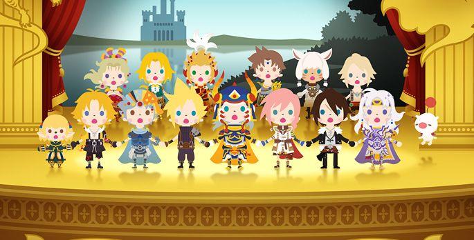 Theatrhythm Final Fantasy: Curtain Call - Test