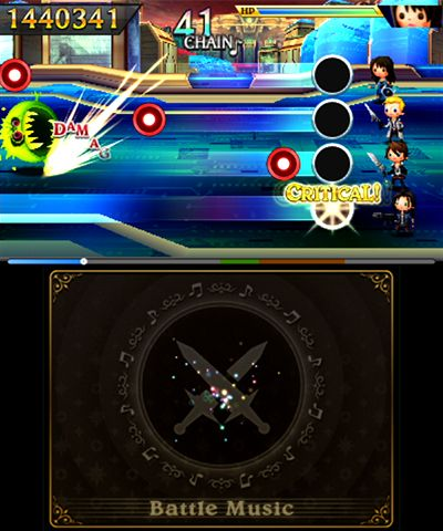 Theatrhythm Final Fantasy: Curtain Call - Screenshots - Bild 3