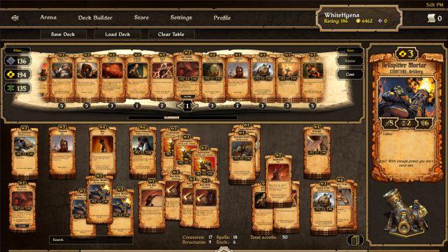 Scrolls - Screenshots - Bild 2