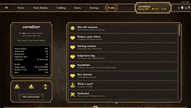 Scrolls - Screenshots - Bild 7