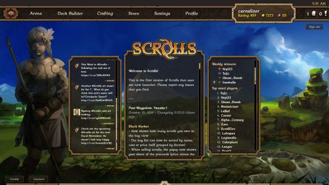 Scrolls - Screenshots - Bild 22