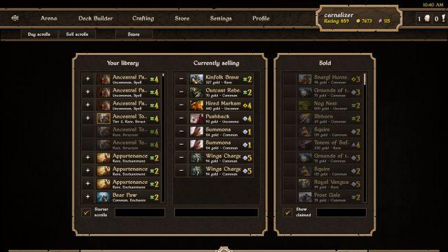 Scrolls - Screenshots - Bild 17