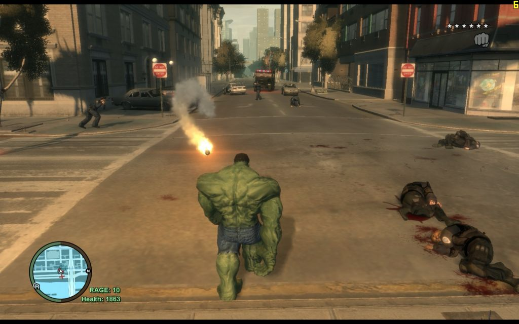 Grand Theft Auto IV: Hulk Mod Galerie - Screenshots von Gameswelt