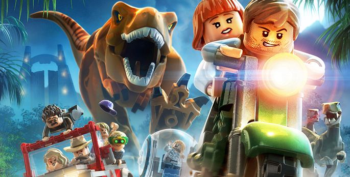 LEGO Jurassic World - Test