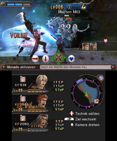 Xenoblade Chronicles 3D - Screenshots - Bild 22
