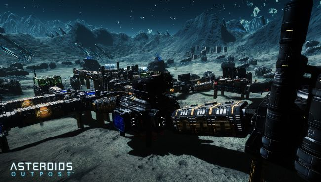 Asteroids: Outpost - Screenshots - Bild 1