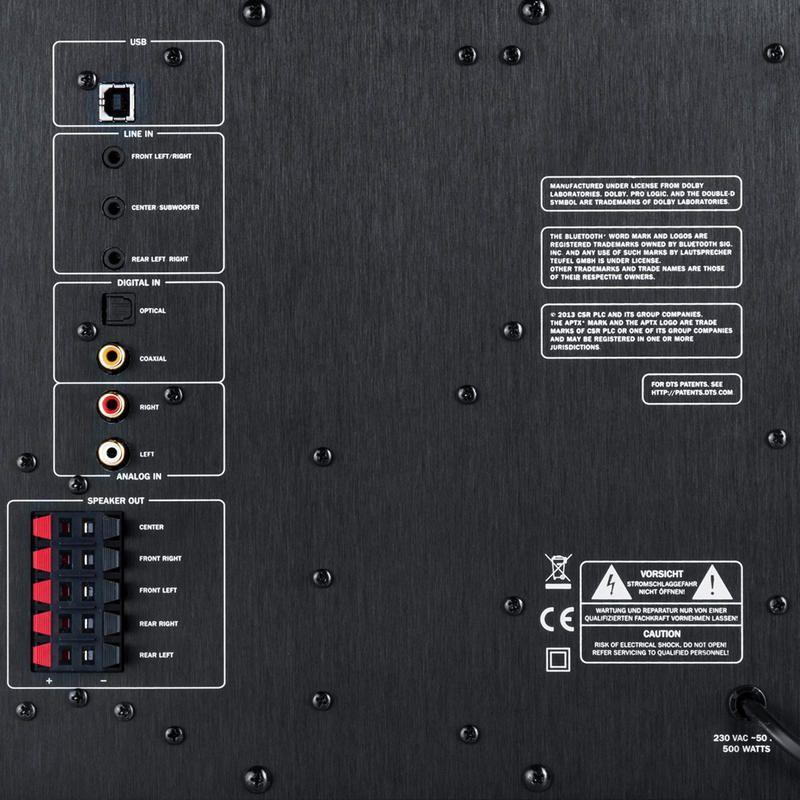 Teufel concept e 450 digital himmlischer teufelssound for Wohnzimmertisch usb