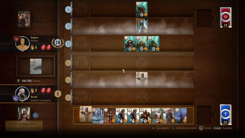 gwint kartenspiel