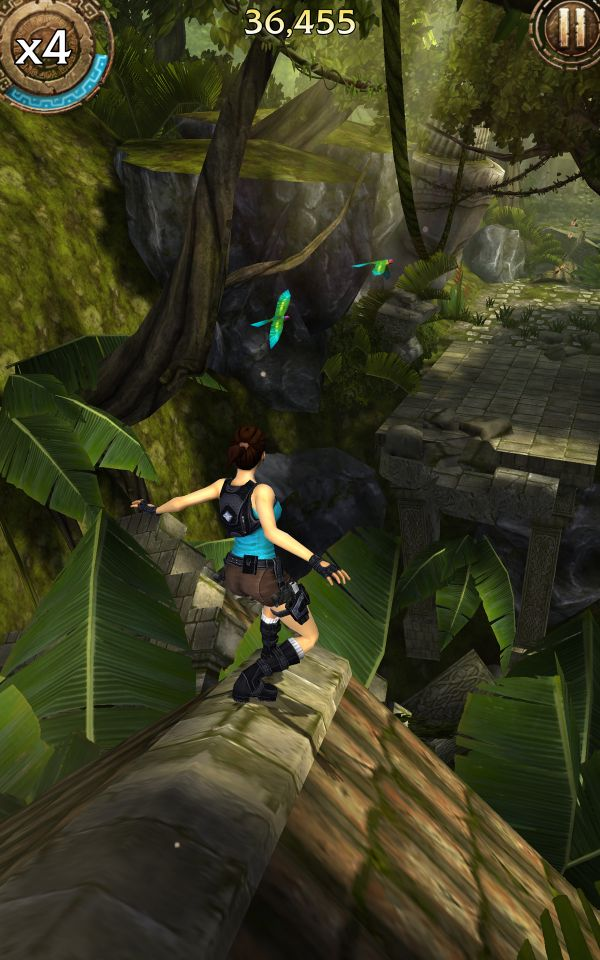Lara Croft: Relic Run - Screenshots - Bild 1