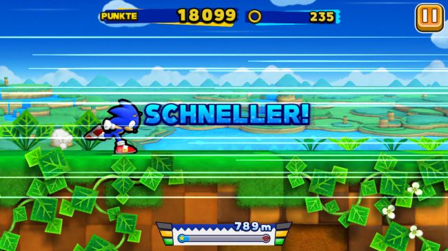 Sonic Runners - Screenshots - Bild 3