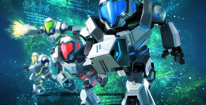 Metroid Prime: Federation Force - Test