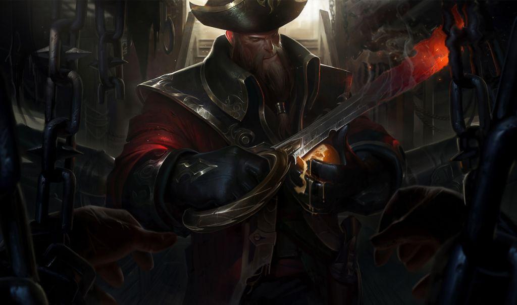League Of Legends Rip Gangplank Special Von Gameswelt