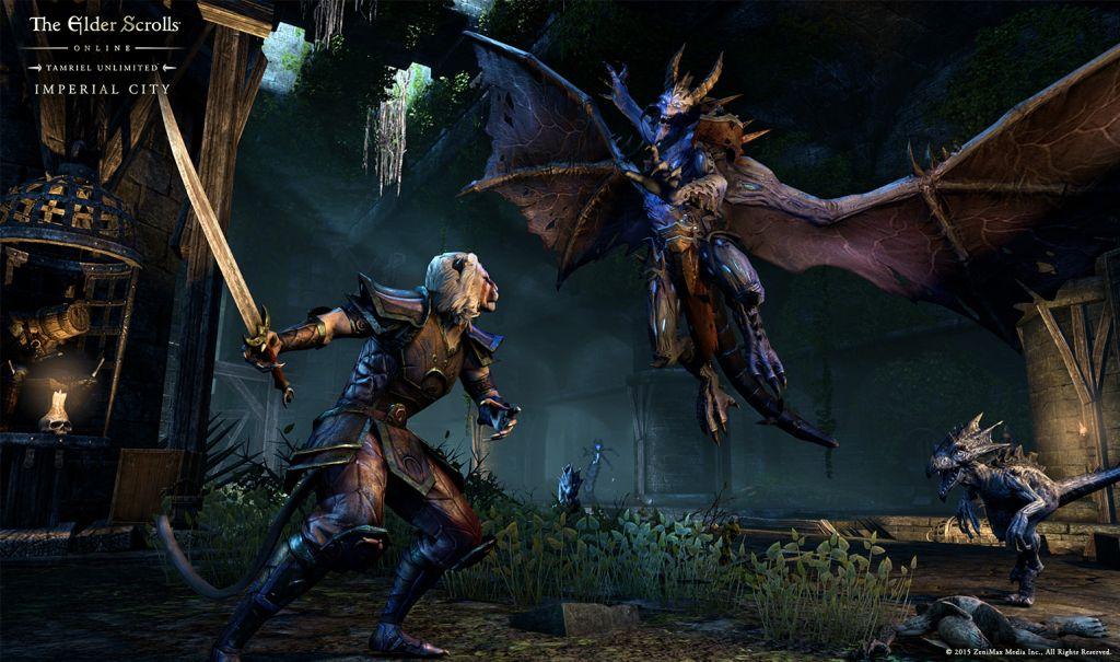 The Elder Scrolls Online Tamriel Unlimited Imperial City Dlc Für