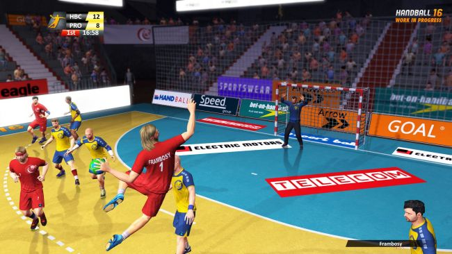 Handball 16 - Screenshots - Bild 1