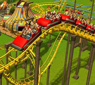 RollerCoaster Tycoon 3 - Test