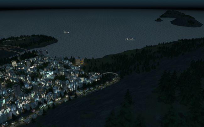Cities: Skylines - After Dark - Screenshots - Bild 1