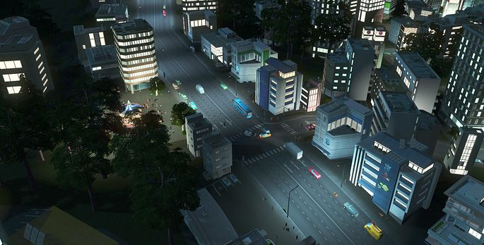 Cities: Skylines - After Dark - Test