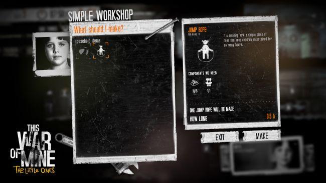 This War of Mine: The Little Ones - Screenshots - Bild 1