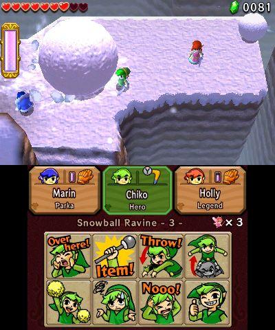 The Legend of Zelda: Tri Force Heroes - Screenshots - Bild 4