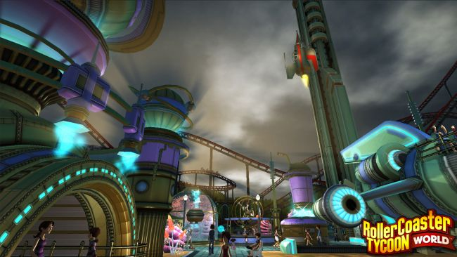 Rollercoaster Tycoon World - Screenshots - Bild 8