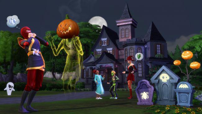 Die Sims 4 - DLC: Grusel-Accessoires - Screenshots - Bild 4