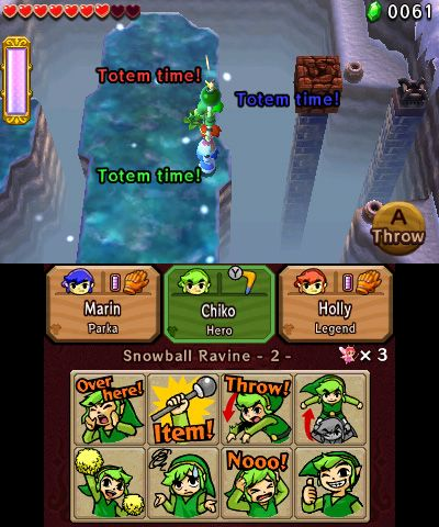 The Legend of Zelda: Tri Force Heroes - Screenshots - Bild 1