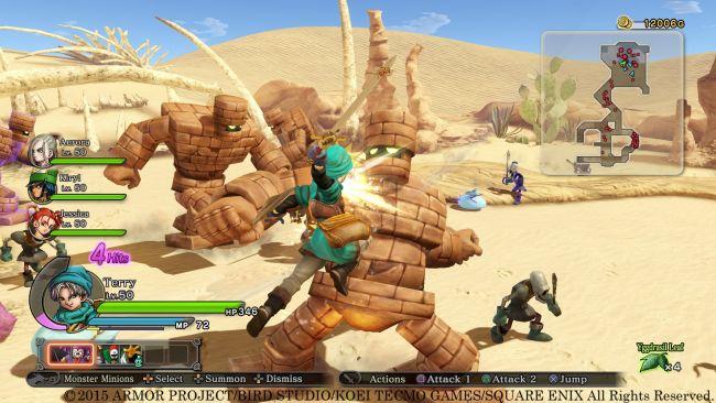 Dragon Quest Heroes: Der Weltenbaum und der Tyrann aus der Tiefe - Screenshots - Bild 6