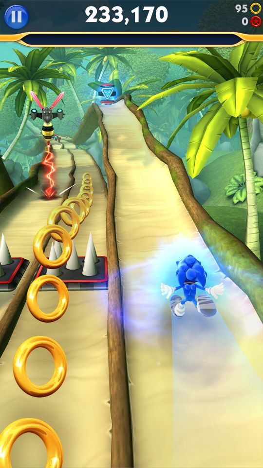 Sonic Dash 2: Sonic Boom - Screenshots - Bild 2