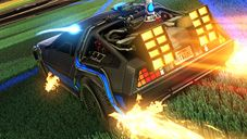 Rocket League - DLC: Back to the Future Car Pack - Screenshots