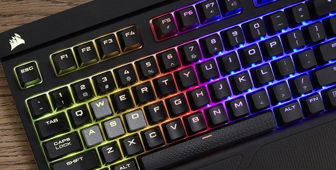 Corsair Gaming STRAFE RGB MX Silent