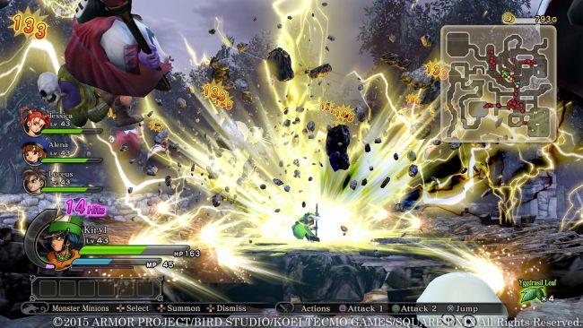 Dragon Quest Heroes: Der Weltenbaum und der Tyrann aus der Tiefe - Screenshots - Bild 17