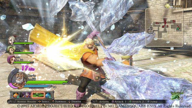 Dragon Quest Heroes: Der Weltenbaum und der Tyrann aus der Tiefe - Screenshots - Bild 11