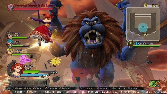 Dragon Quest Heroes: Der Weltenbaum und der Tyrann aus der Tiefe - Screenshots - Bild 5