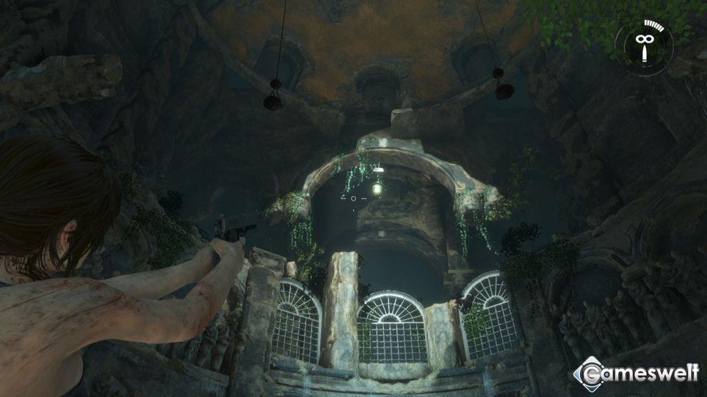 rise of the tomb raider hängt sie höher