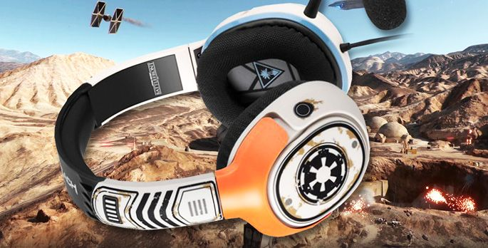 Turtle Beach Star Wars Battlefront Sandtrooper Gaming Headset - Test
