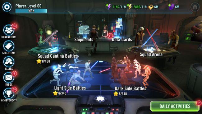Star Wars: Galaxy of Heroes - Screenshots - Bild 4