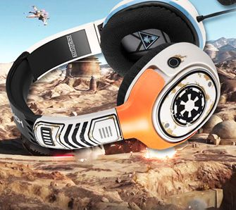 Turtle Beach Star Wars Battlefront Sandtrooper Gaming Headset - Test