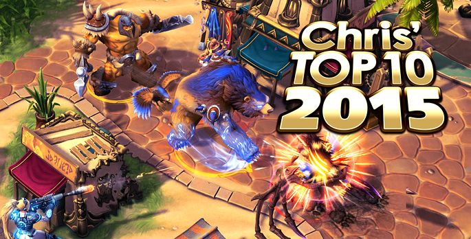 Top 10 2015: Chris - Special