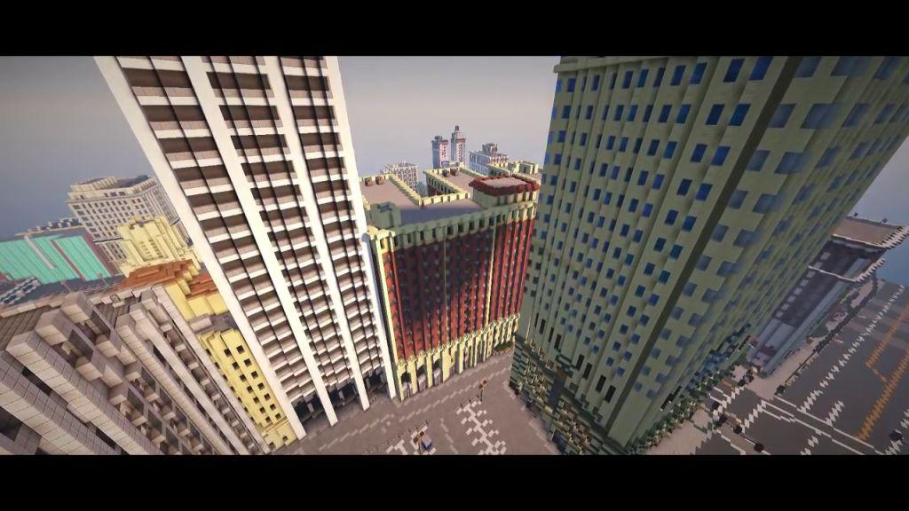 Minecraft Welt Aus GTA V Wird Im Maßstab Nachgebaut News Von - Minecraft gta spiele