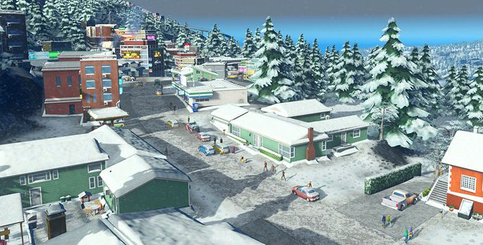 Cities: Skylines – Snowfall - Test