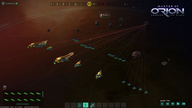 Master of Orion: Conquer the Stars - Screenshots - Bild 1