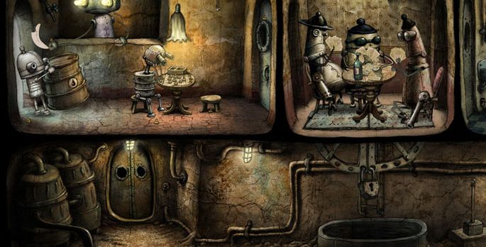 Machinarium - Test