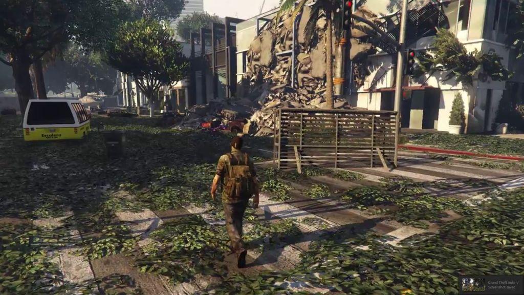Grand Theft Auto V: Mods verändern Spielwelt zu The Last of ...