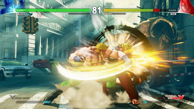 Street Fighter V - DLC: Alex - Screenshots - Bild 1