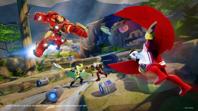 Disney Infinity 3.0 Playset: Marvel Battlegrounds - Screenshots - Bild 5