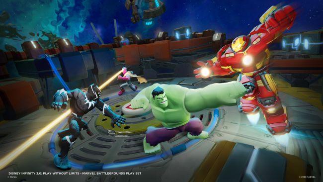 Disney Infinity 3.0 Playset: Marvel Battlegrounds - Screenshots - Bild 3