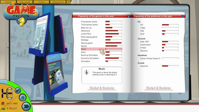 Game Tycoon 2 - Screenshots - Bild 5