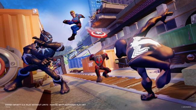 Disney Infinity 3.0 Playset: Marvel Battlegrounds - Screenshots - Bild 1